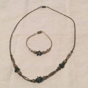 🦋Cool Estate Bohemian Set Necklace / Bracelet 🦋